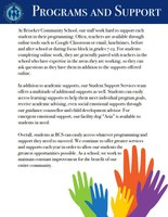 Programs and Support at Beiseker Community School